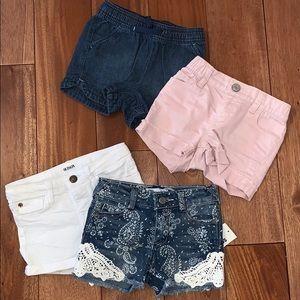 Girls Shorts 3T